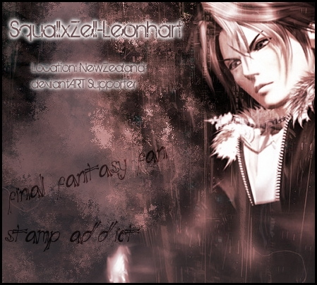 SquallxZell-Leonhart's Profile Picture