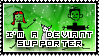Deviant Supporter by SquallxZell-Leonhart