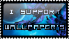 I support Wallpaper's by SquallxZell-Leonhart