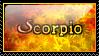 Scorpio Starsign by SquallxZell-Leonhart