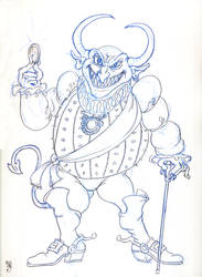 Devil of Greed by crackwalker