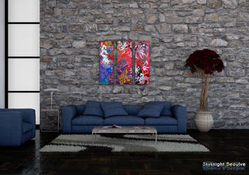 [Celestial Being] Living Room