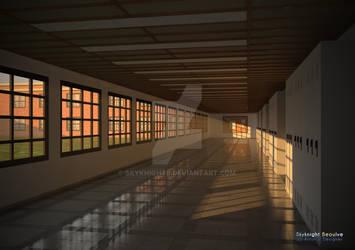 [Celestial Being] School Hallway
