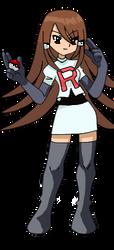 Team Rocket oc Luna by Espeon-girl92