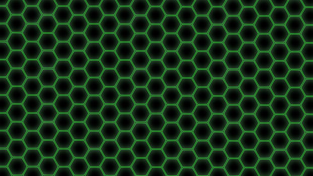 Hex Grid Green
