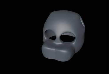 (c4d) freddy mask wip by GoldenAdrien
