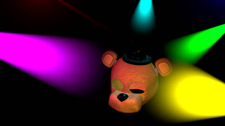 (C4D/Release) Withered Freddy mask v1 by GoldenAdrien