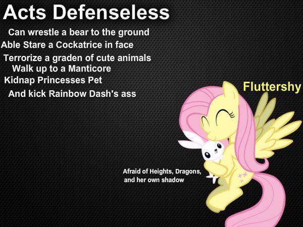 Fluttershy description by Paris7500