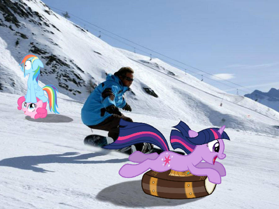 Ponies on the Slopes by Paris7500