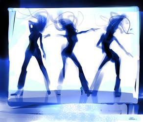 Dance for me by zhuzhu