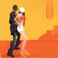 Reggae Dance by zhuzhu