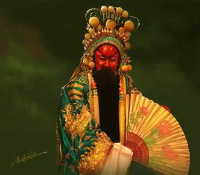 Beijing opera by zhuzhu