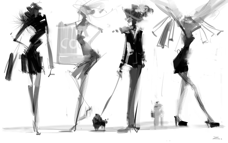 Fashion Sketch By Zhuzhu On DeviantArt