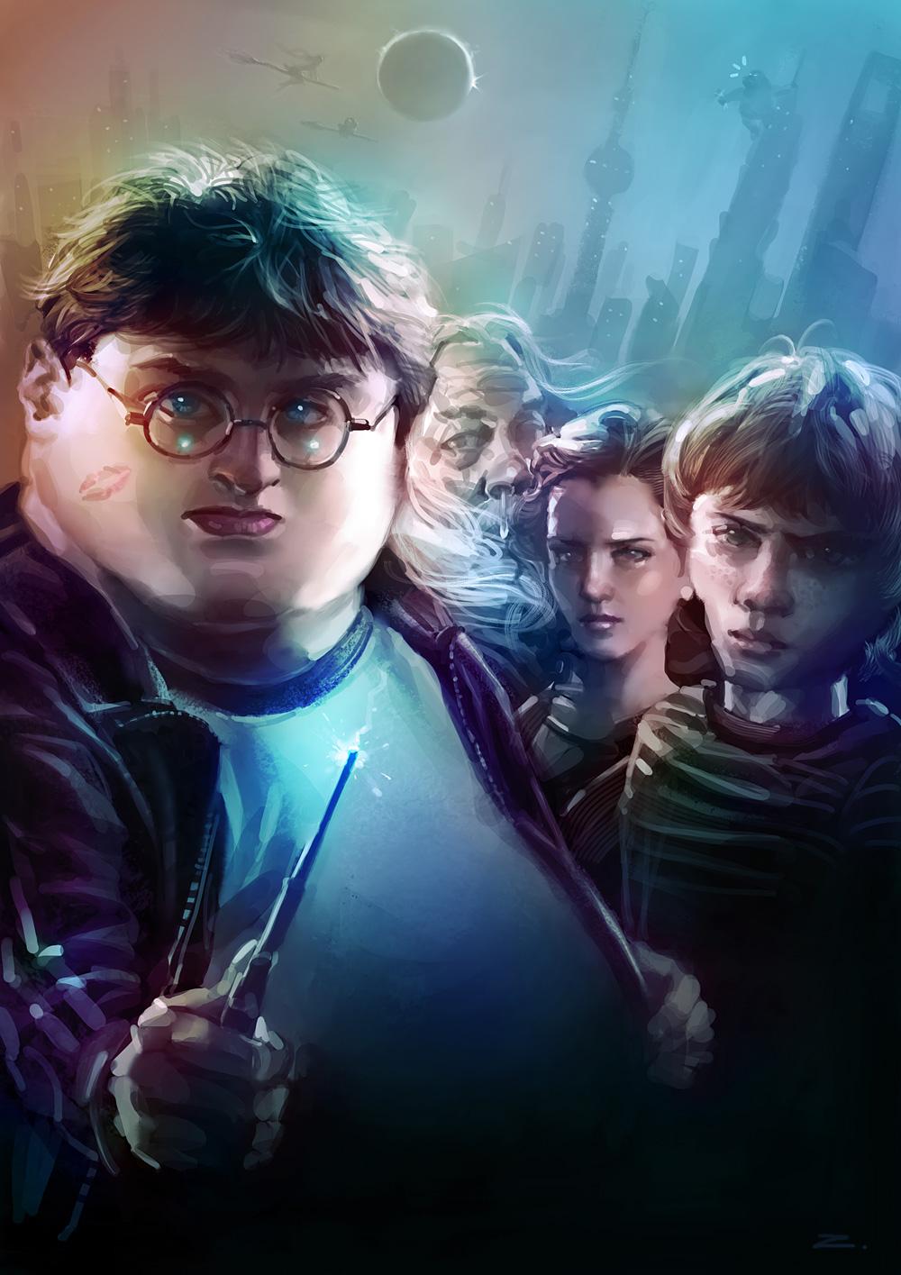 Harry Potter by zhuzhu