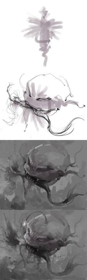 ideas from random strokes