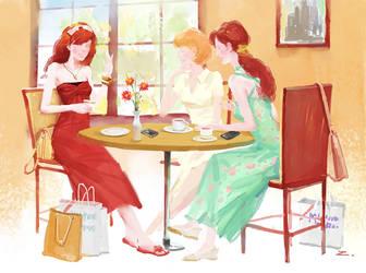 Afternoon Tea by zhuzhu