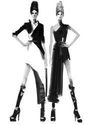 Fashion Sketches on iPad