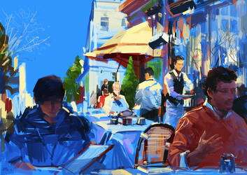 Lunch by zhuzhu