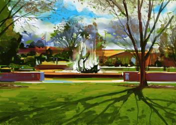 Stanford University by zhuzhu