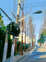 Tian ai Road by zhuzhu