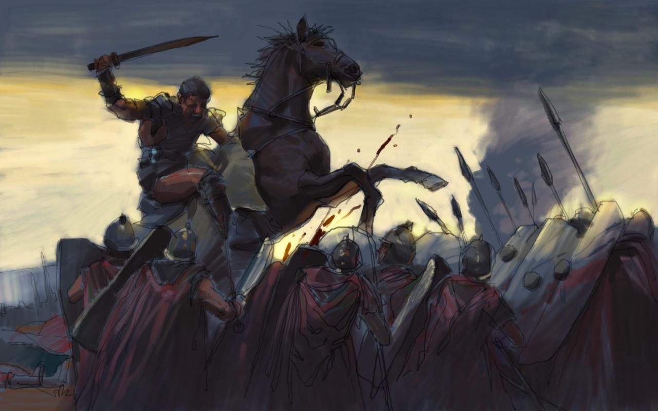 Spartacus by zhuzhu
