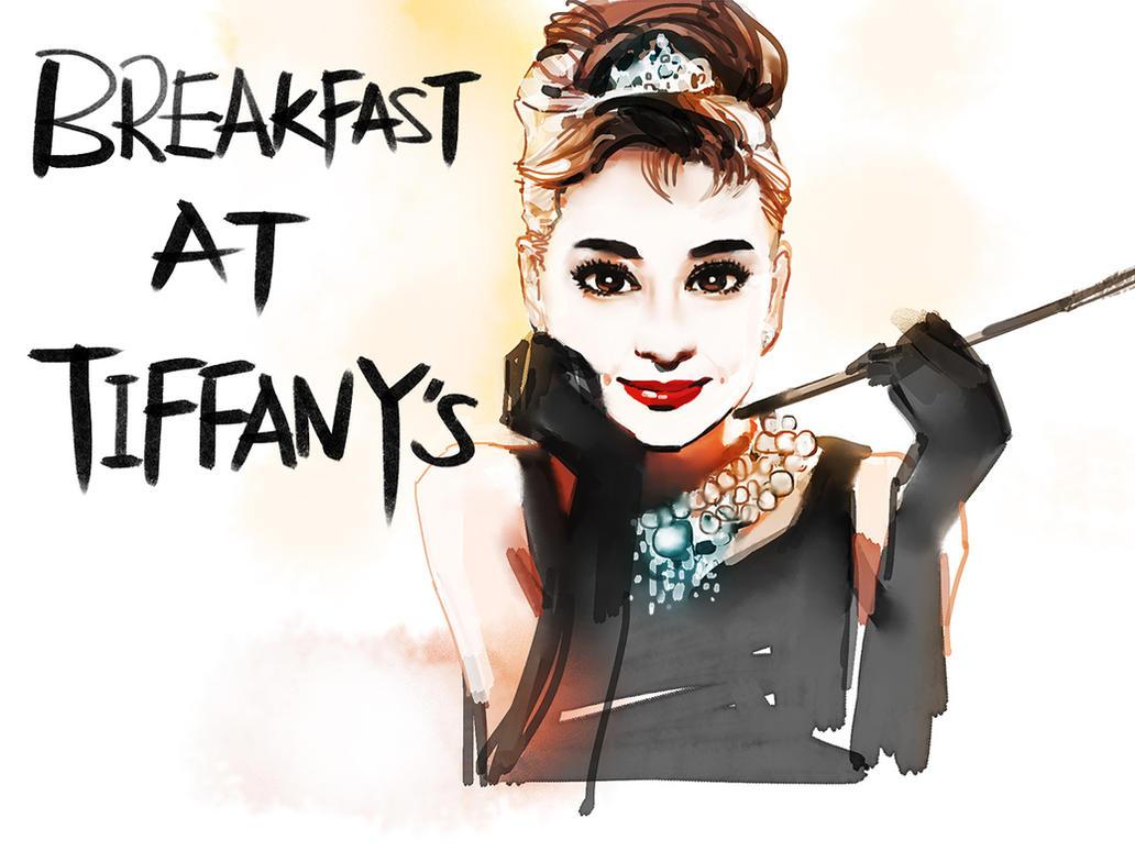 Breakfast At Tiffanys By Zhuzhu On DeviantArt