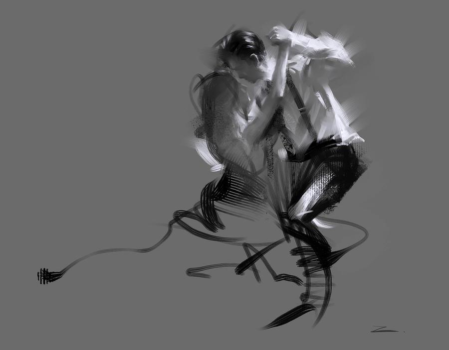 Dancer by zhuzhu