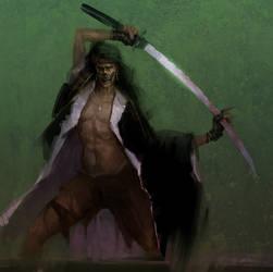 Ghost Samurai by zhuzhu