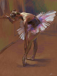 Ballet Dancer by zhuzhu