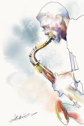 Jazz Mood by zhuzhu