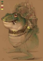 Mr frog by zhuzhu