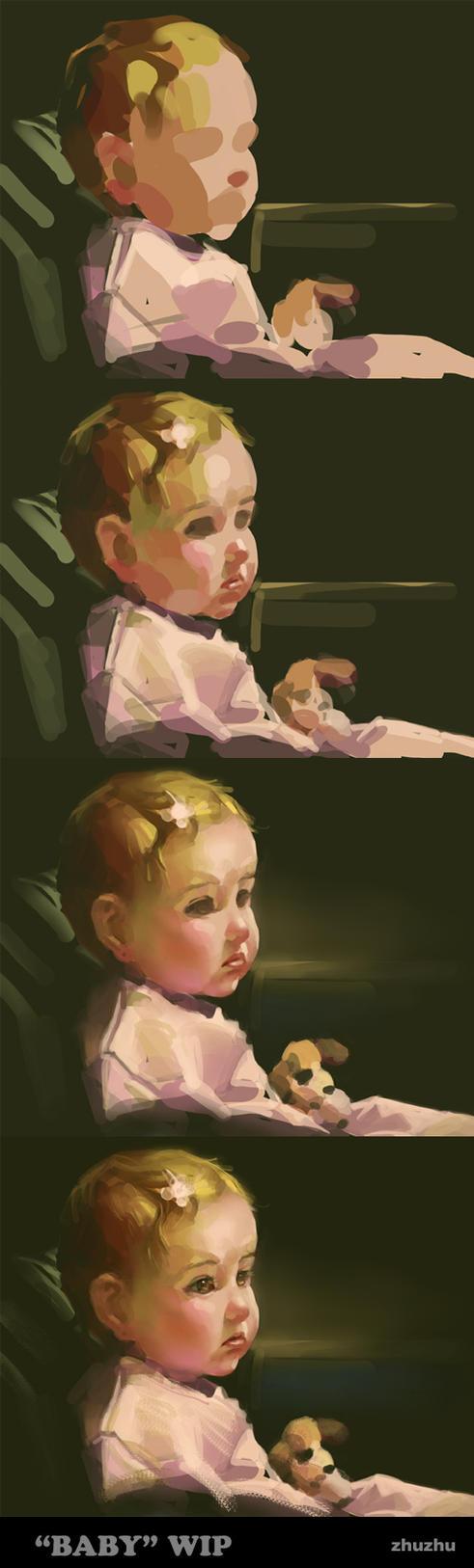 Baby Steps by zhuzhu