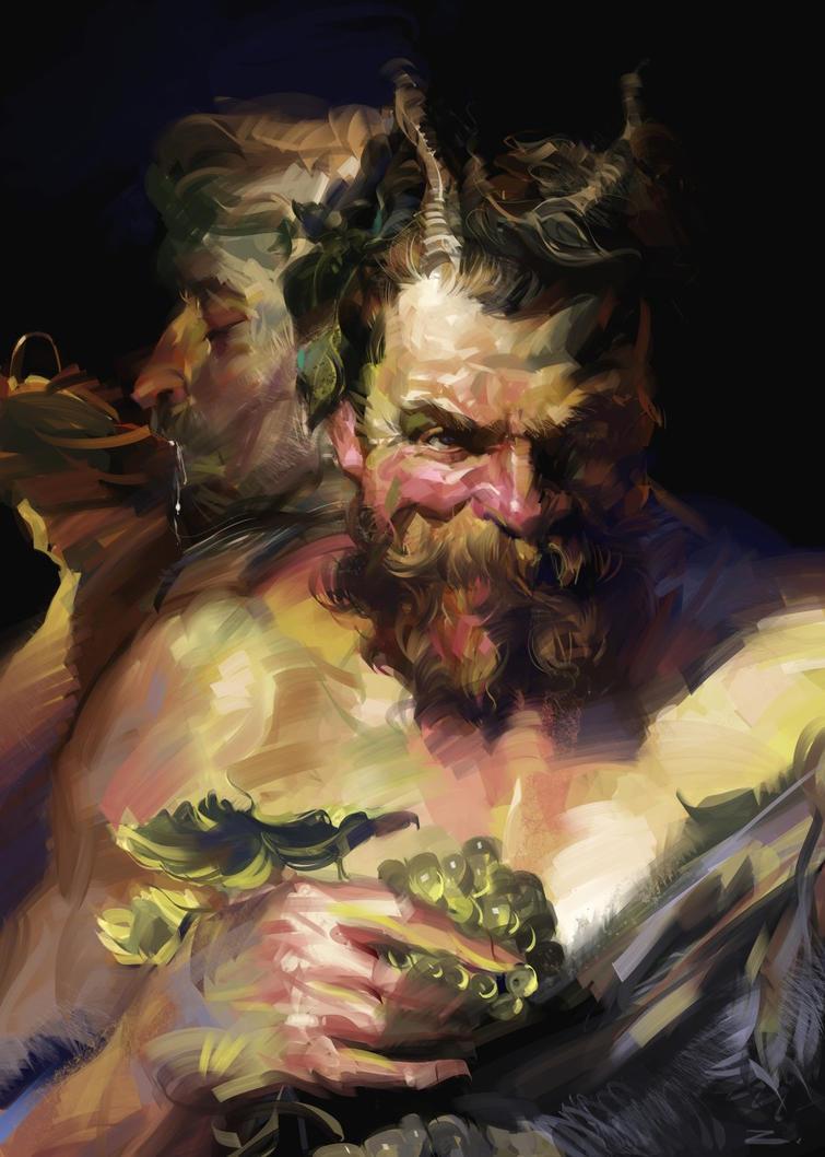Study from Rubens Peter Paul by zhuzhu