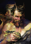 Study from Rubens Peter Paul