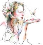 Butterfly by zhuzhu