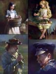 Oilpainting Studies in Painter