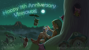 Vinesauce 7th Anniversary (5 11 2017) by theskywaker