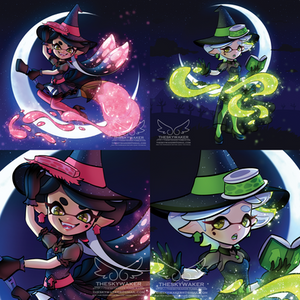 Witch Callie And Marie (10 26 2017)