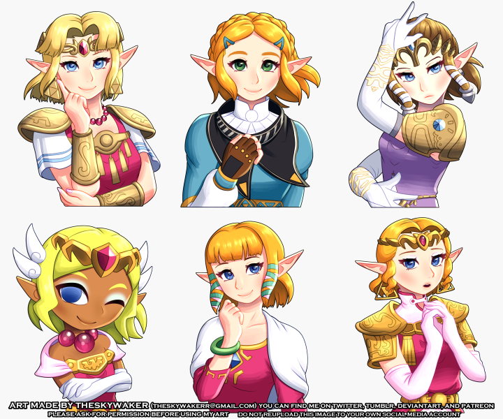 Zelda Short Hair 6 14 2019 By Theskywaker On Deviantart