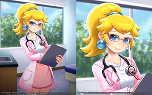 Doctor Peach (6 19 2019) by theskywaker