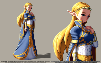 Botw Zelda Royal Dress (8 21 2019)