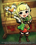 Hyrule Warriors Toon Style Study: Linkle (1 7 2021