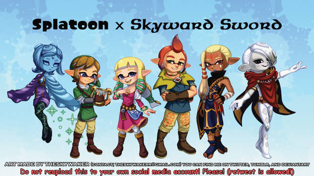 Splatoon X Skyward Sword (3 28 2021)