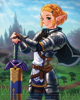 Knight Zelda (7 28 2021)