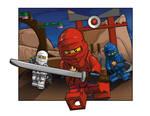Test Piece for LEGO- Ninjago themed