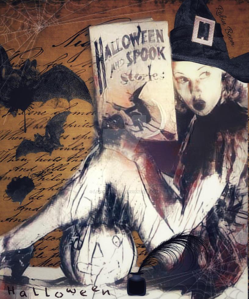 Vintage Halloween by Laughingbird11