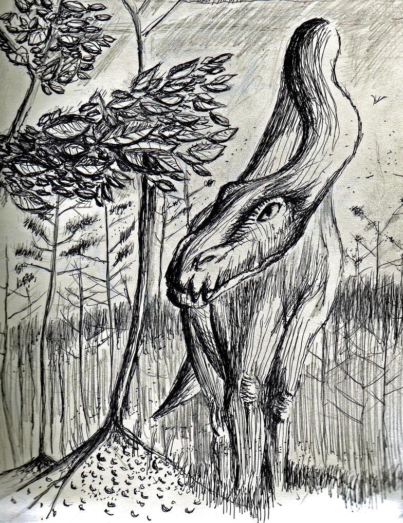 Wondering Brontosaurus by philippeL