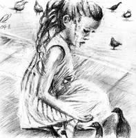 Feeding the Birds by philippeL