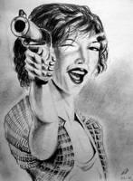 Milla Jovovich by philippeL