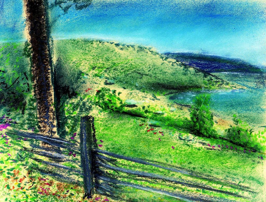 Rural Scenery by JocelyneR by philippeL